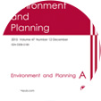 Environment and Planning A
